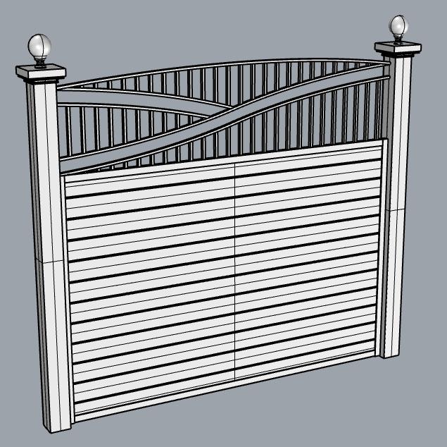 cascade fence