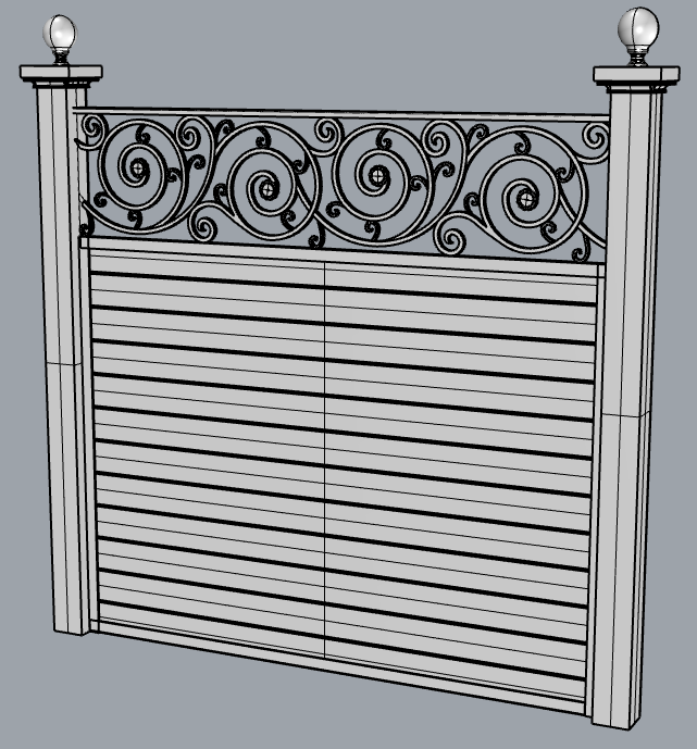scroll-top fence