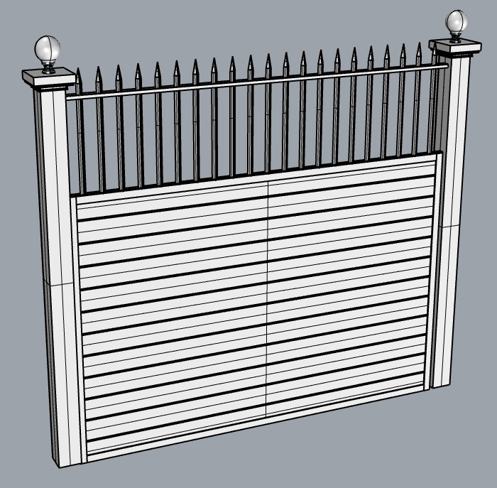 villanova fence