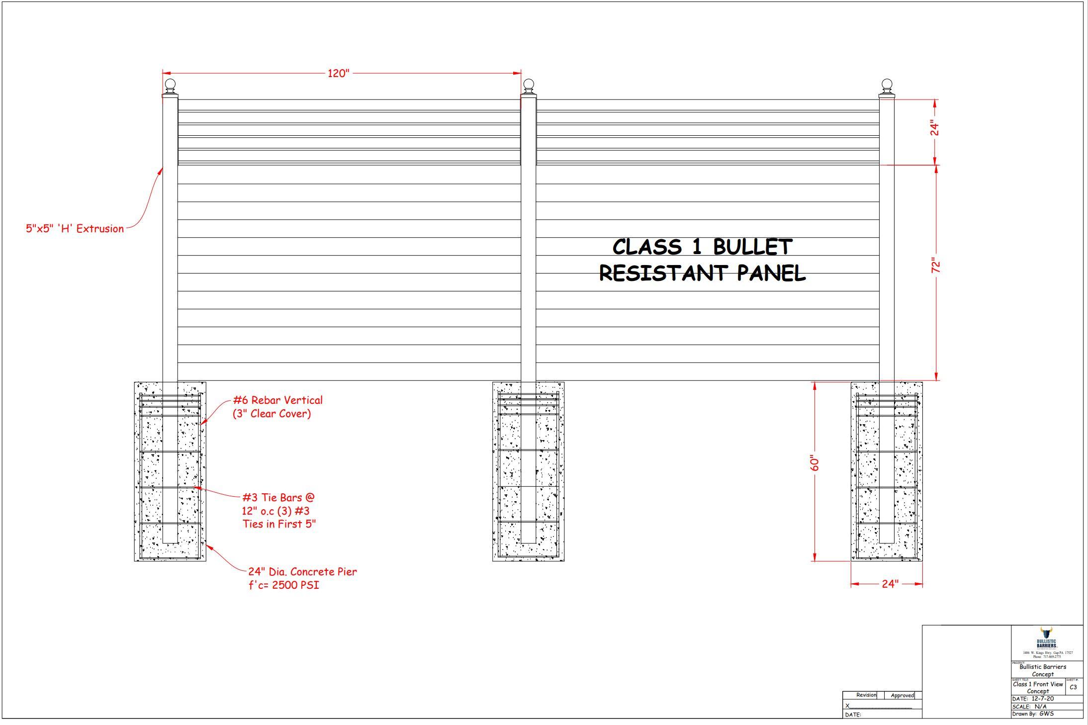 Class 1 spec page 1